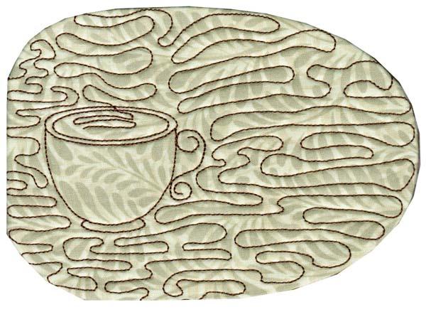 Mug Mat In The Hoop