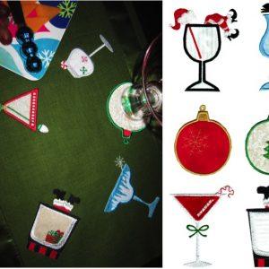 Christmas Cocktails Set