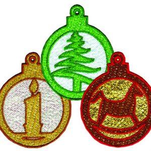 FSL Mylar Ornaments Set