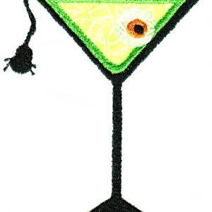 Creepy Cocktails Applique Single 02