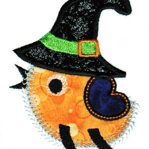 Halloween Cuties Applique Single 09