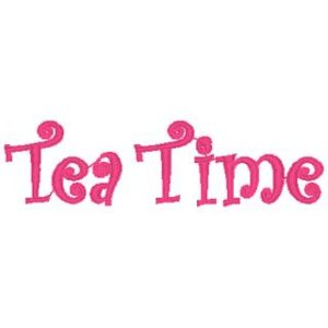 Tea Time Words