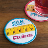 Mom's Rule Coaster