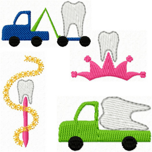 tooth fairy embroidery designs