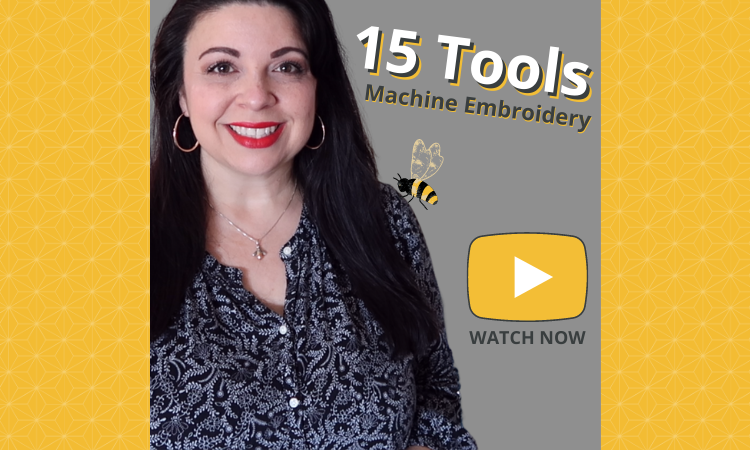 15 Must Have Tools for Machine Embroidery